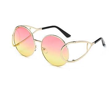 Mode Trend Gläser Frauen Sonnenbrillen , Gold / Gelb