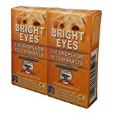 Ethos Bright Eyes™ Carnosine NAC Eye Drops for Pets Discount 2-Pack (4 x 5ml Bottles) - Ethos Bright Eyes™ NAC Eye Drops for Pets - As Seen on UK National TV with Amazing Results!
