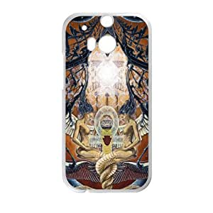 Y-O-U-C8108330 Phone Back Case Customized Art Print Design Hard Shell Protection HTC One M8