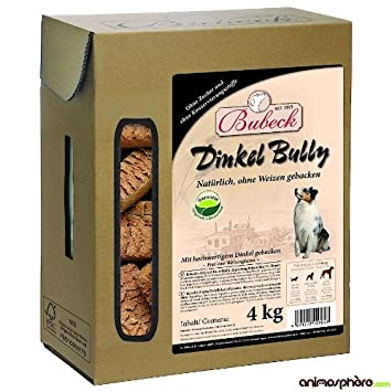 bubeck Espelta Bully 4 kg de galletas