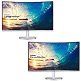 samsung dual monitor stand - Samsung CF591 Series 27