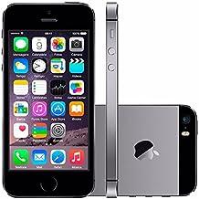 iPhone 5s Apple 16GB Cinza Espacial Desbloqueado Câmera 8MP 4G e Wi-Fi