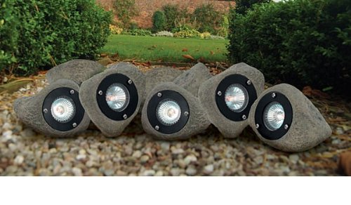 Garden Rock Lights Low Voltage Uk Luxform Low Voltage Garden Rock