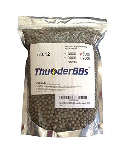 thunderbbs airsoft bbs 0.12 gram(Airsoft Gun) - 6mm Plastic Bbs