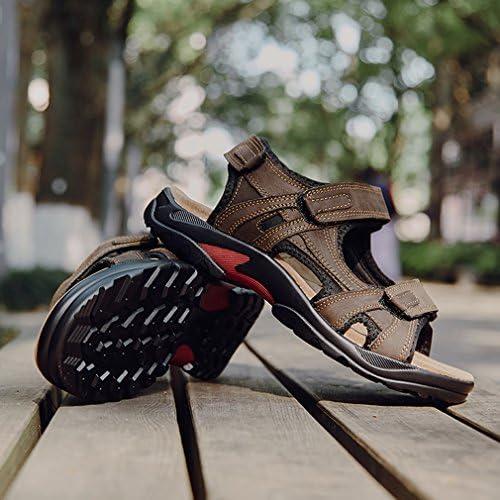 スポーツサンダル メンズ アウトドアサンダル 大きいサイズ カジュアル スポサン 職場 オフィス 本革 ストラップ 人気 通気 排水 速乾性
