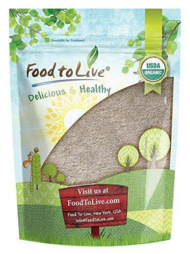 Organic Buckwheat Flour (Whole Grain, Gluten-Free, Non-GMO, Kosher, Bulk) by Food to Live — 1 Pound Organic Buckwheat Flour