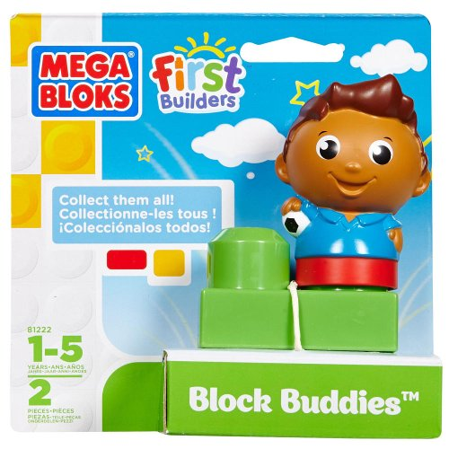 Block Buddies Semi Blind Packs - Lil Soccer Star by Mega Bloks