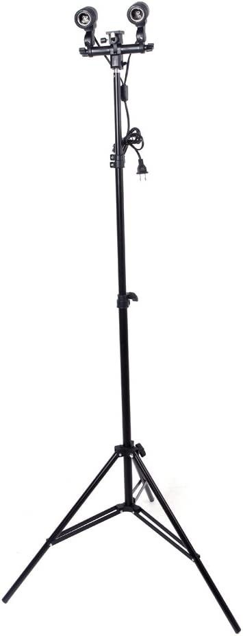 6.56ft Photography Studio Light Tripod Stand for Camera Photo Studio Soft Box RuleaxAsi 2m