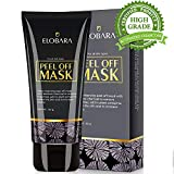 Elobara Blackhead Remover Mask, Blackhead Peel Off Mask, Face Mask, Blackhead Mask, Black Mask Deep Cleaning Facial Mask for Face