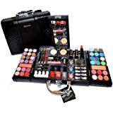 Exclusive en Cuir Synthétique De Maquillage Beauty Case Vanity 63 pièces (e797).