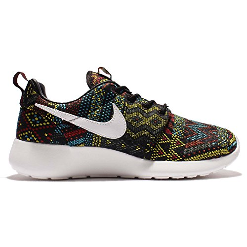 Nike Womens Wmns Roshe One Jcrd Bhm Qs, Nero / Summit Bianco-nobile Rosso, 5 Us