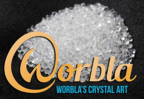 Worbla Crystal Art - Clear Moldable Thermoplastic Pellets 4.4 oz COPLAY Friendly Plastic Beads