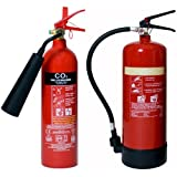 2x Fire extinguishers (2kg CO2 + 6ltr AFFF Foam) Special offer! Home | Office by Firemart