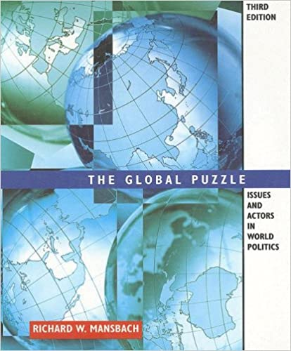 Book Global Puzzle: Issues and Actors in World Politics