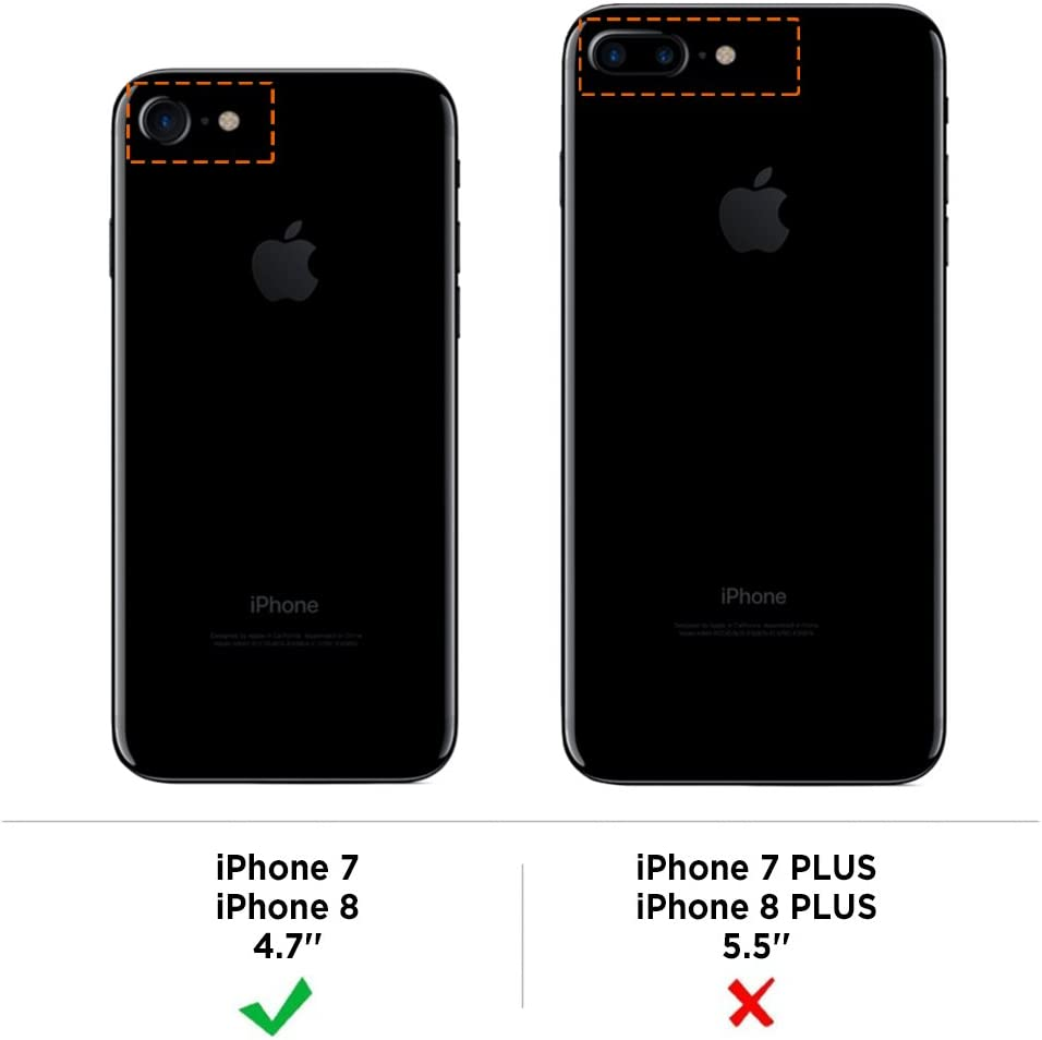 iPhone 7 Custodia in TPU Nero Opaco EasyAcc iPhone7 morbido TPU