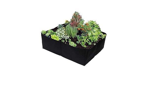 Seika - Maceta de jardín con 4 Rejillas divididas para Plantar ...