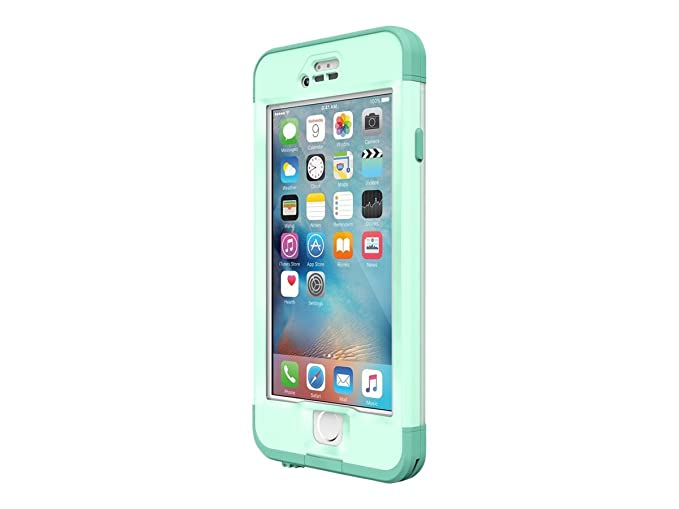 brand new c8711 79b7c Lifeproof NÜÜD SERIES iPhone 6s Plus ONLY Waterproof Case - Retail  Packaging - UNDERTOW (AQUA SAIL BLUE/CLEAR/TAIL SIDE TEAL)