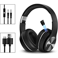 Salandens Audífonos Bluetooth Inalámbricos Tipo Diadema, Sonido High Definition, Manos Libre, Plegables, con Aislamiento…