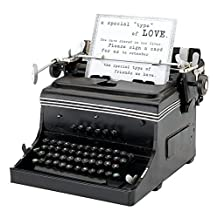 Lillian Rose GA508 1945 Mini Replica Typewriter, 10 x 9.75 x 6.5-Inch