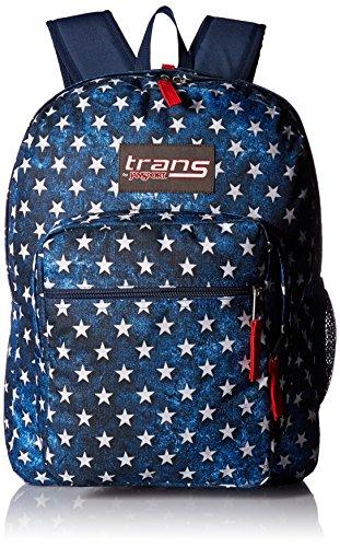 JanSport Unisex Supermax Multi Stars Backpack ()