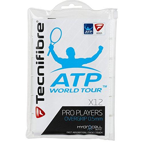 Tecnifibre Players (Tecnifibre ATP Pro Players Overgrip 12 Pack White)