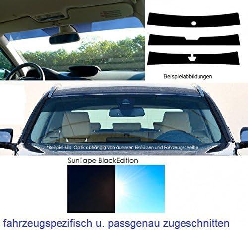 Vgivlst1t Frontblendstreifen Sonnenschutzstreifen Windschutzscheibe Passgenau Fahrzeugspezifisch Inkl Spiegelfußaussparung Auto
