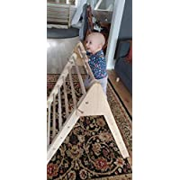 Wooden Pikler Triangle Climbing Frame