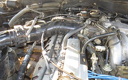 Coolant HPS 57-1344-BLK-2 Black Silicone Pesky Heater Hose Kit