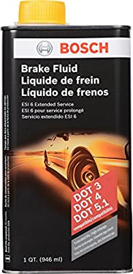 Bosch ESI6-32N Brake Fluid (Direct Replacement for DOT 3, DOT 4, and DOT 5.1)