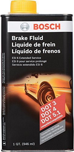 Bosch ESI6-32N Brake Fluid (Direct Replacement for DOT 3, DOT 4, and DOT (1993 Mazda B2600 Replacement)
