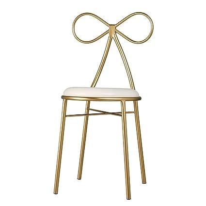 Amazon.com: Iron Art Armchair, Creativity Butterfly Bow tie Chair ...