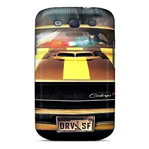 High Quality Bivillegas Dodge Challenger Skin Case Cover Specially Designed For Galaxy - S3