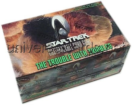 (Star Trek CCG: Trouble With Tribbles Preconstructed Starter Deck Box)