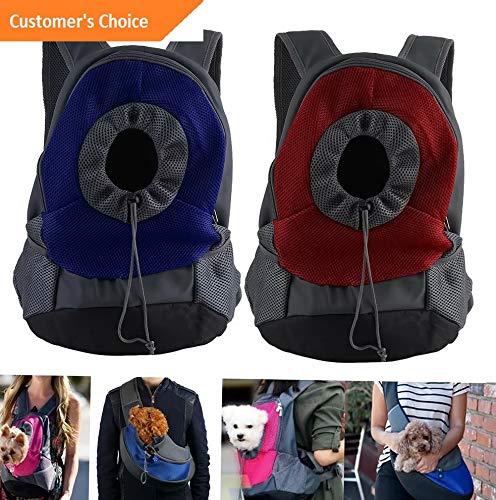 Kaputar Pet Dog Cat Puppy Carrier Comfort Travel Tote Shoulder Bag Sling Backpack S/L EK | Model BCKPCK - 912 |