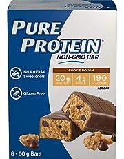 Pure Protein Bars, Non-Gmo 20g Protein Bar, No Artificial Sweeteners