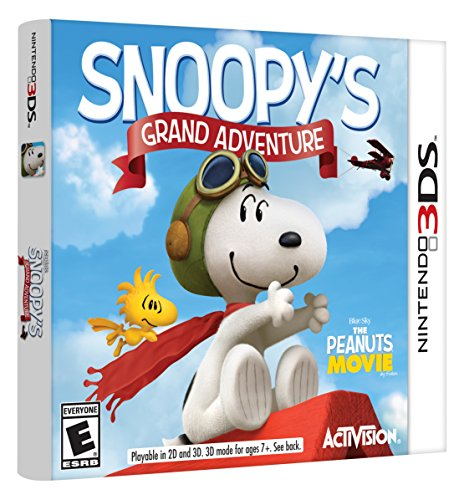 Amazon Lightning Deal 58% claimed: The Peanuts Movie: Snoopy's Grand Adventure 3DS - Nintendo 3DS