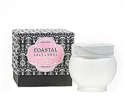 (Ultra-Moisturizing, Award-Winning, Blissful Body Butter with Essential Sea Oils & Pure Shea Butter by Coastal Salt & Soul, Blushing Peony)