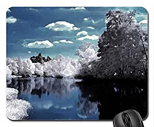 The Dark Tree Mouse Pad, Mousepad (Lakes Mouse Pad, 10.2 x 8.3 x 0.12 inches)