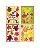 Impact Innovations Harvest Clings Fall Decoration 17 in. H x 17 in. W x 12 in. L 8 PACK