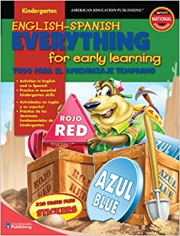 English-Spanish Everything for Early Learning, Kindergarten (English