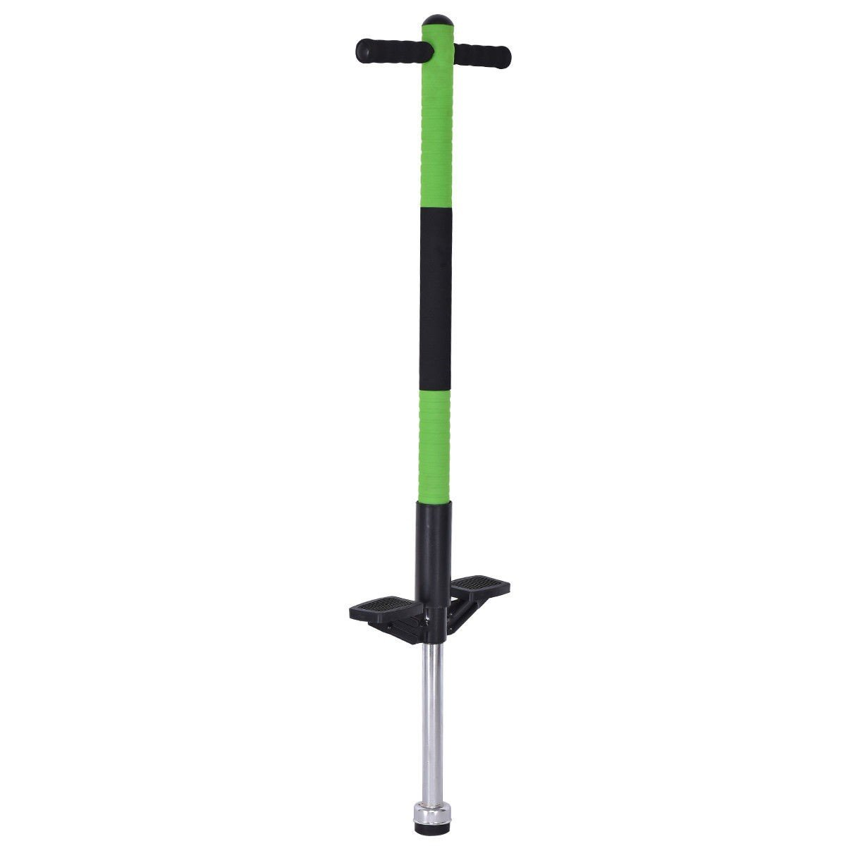 COSTWAY Pogo Stick Jump Stick for Children and Adults Healthy Fun Exercise Green Only by eight24hours