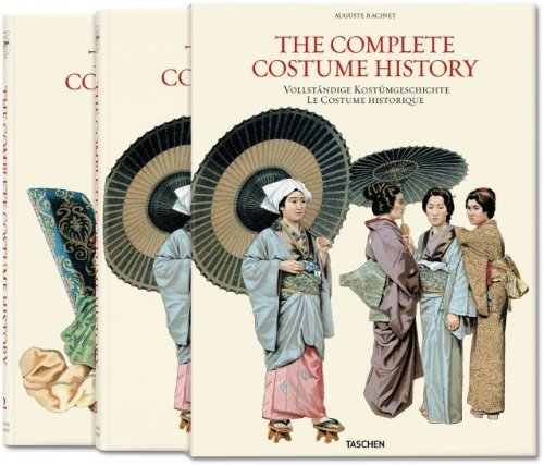 Racinet: Complete Costume History by Francoise Tetard-Vittu (Racinet The Complete Costume History)