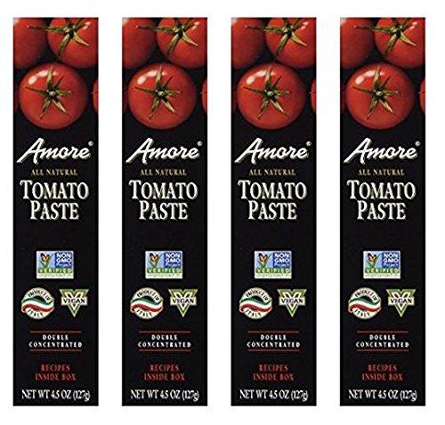 Amore Tomato Paste - 4.5 oz ( 4 Pack -