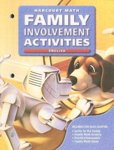 California Harcourt Math Family Involvement Activities: Grade 3