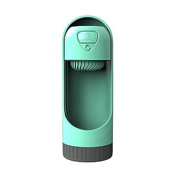 Botella de Agua para Perros para Caminar Sannysis Dispensador de Agua para Mascotas Moda Antibacterial portátil para Perros Viaje Botella (Azul): Amazon.es: ...
