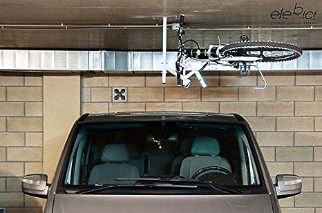 Elebici T1 - Soporte colgador elevador de bicicletas para techo para ...