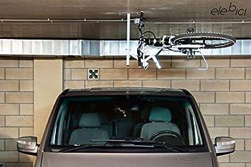 elebici t soporte colgador elevador de bicicletas para techo para una bicicleta