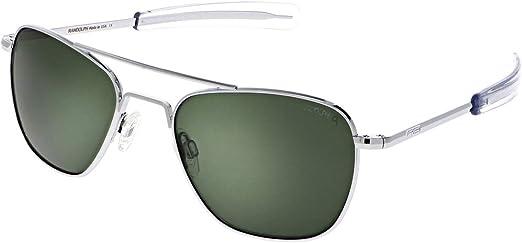 Randolph 52mm 55mm 58mm Gun Metal Bayonet Gray Non-Polarized Aviator Sunglasses