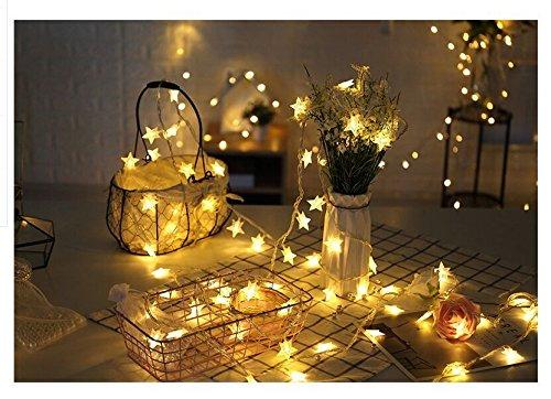 LED Star String Lights Lights, 16.4Ft 40er Fairy Indoor