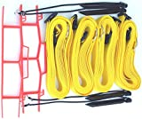 Home Court 2-inch Adjustable 30-ft Sand Court Line - 19AS (Yellow)
